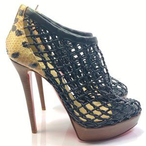 Christian Louboutin Coussin 140 Booties 40.5